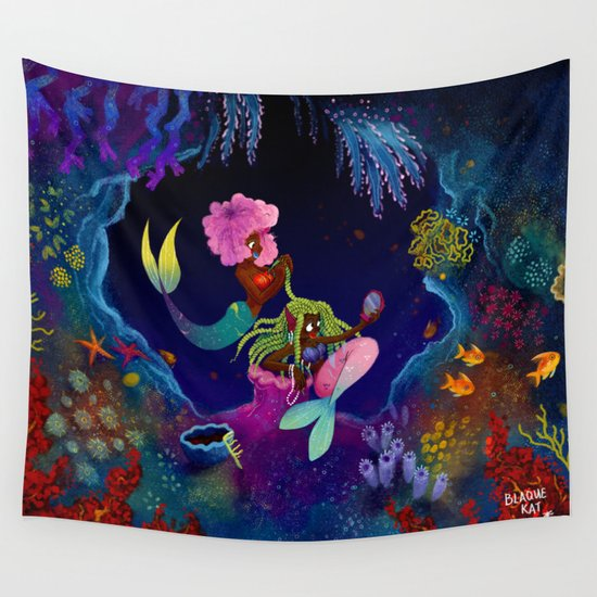 Girl, I got you! Wall Tapestry