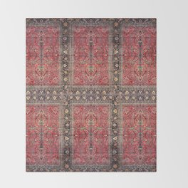 Antique Persian Red Rug Decke