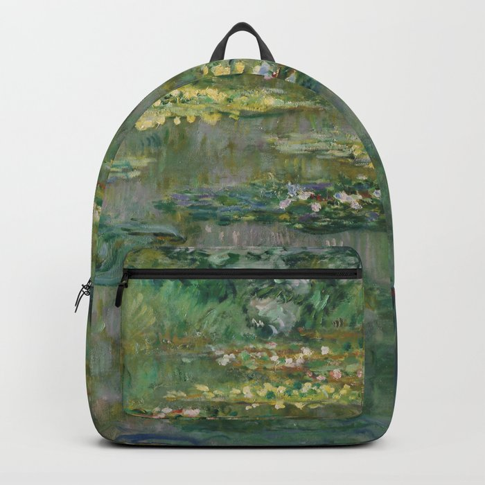 "Claude Monet ""Le Bassin des Nympheas"", 1904 Backpack"