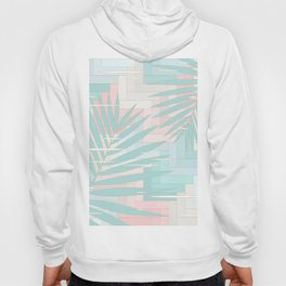 Summer Mood with Chevron and Palms Hoody