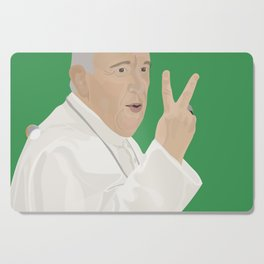 Peace Up, Pope Cutting Board