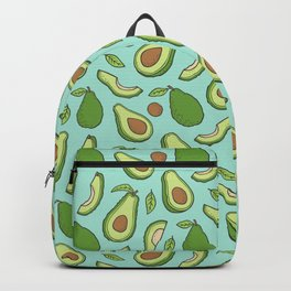 Avocado on Mint Green Backpack