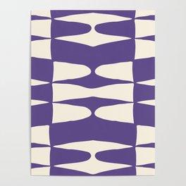 Zaha Ultra Violet Poster