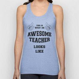 AWESOME TEACHER Unisex Tank Top
