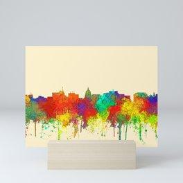 Madison, Wisconson Skyline - SG Mini Art Print