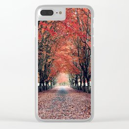 Welcome Home to Fall Clear iPhone Case