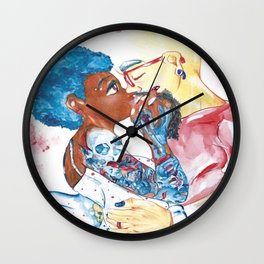 The Artist and The Muse Wall Clock