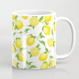 You're the Zest - Lemons on White Coffee Mug