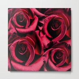 Heart Thumping Roses Metal Print