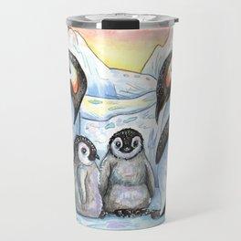 Penguin Family Travel Mug