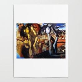Salvador Dali Metamorphosis of Narcissus 1937 Artwork for Wall Art, Prints, Posters, Tshirts, Men, Women, Kids Poster