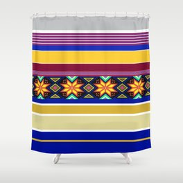 Colorful Holidayz Shower Curtain