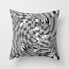 Orders of simplicity series: Patterns in nature Throw Pillow