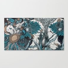 Abstract Jungle  Canvas Print