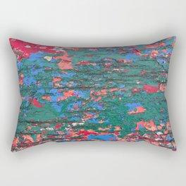 Chipping Paint Rectangular Pillow