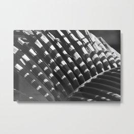 Palm - leave shadow Metal Print