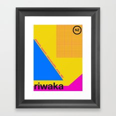 riwaka single hop Framed Art Print