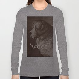 Famous Quotes #1 (anonymous dog, 1941) Long Sleeve T-shirt