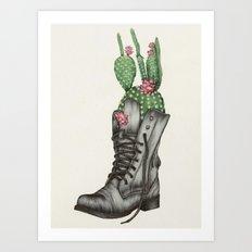 Shoe Bouquet II Art Print