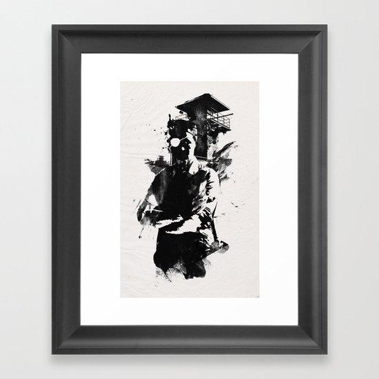 Once I was the govenor Framed Art Print