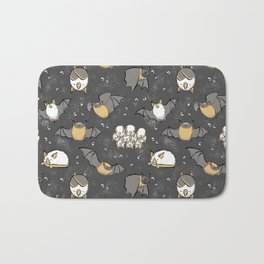 Pipistrelle and Honduran Bats Bath Mat