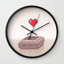 16 bits Love Wall Clock