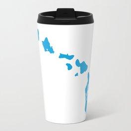 HI From Hawaiian Islands Travel Mug