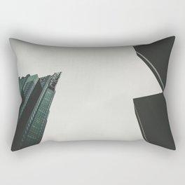 a view from a down below Rectangular Pillow