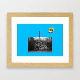Mekleptein Framed Art Print