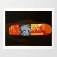 simba Art Prints featuring SIMBA by David Hinnebusch