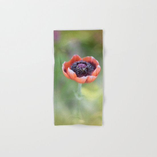 Tiny poppyblossom in LOVE Hand & Bath Towel