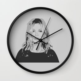 Kate impression art work Wall Clock