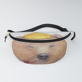Brown Bear Fanny Pack