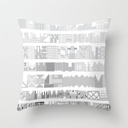 Architexture Throw Pillow