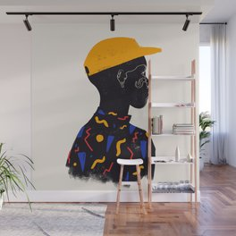 Yellow one Wall Mural
