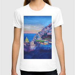 Amazing Amalfi Coast at Sunset in Italy T-shirt