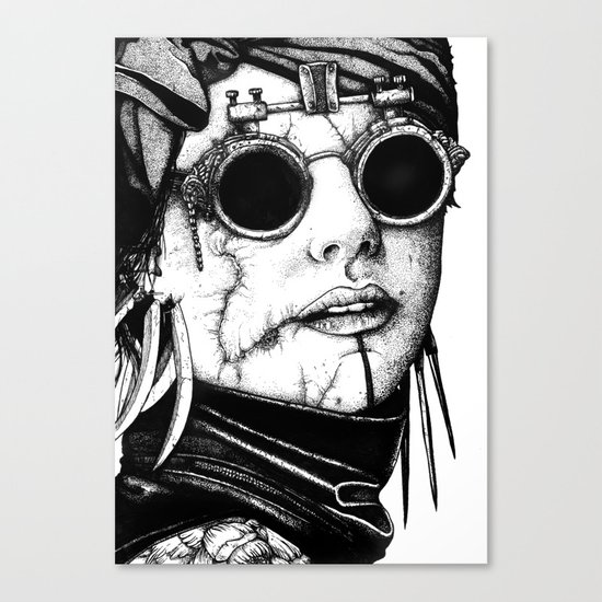 The Glasses. Canvas Print