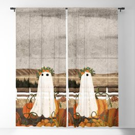 There's a Ghost in the Pumpkins Patch Again... Blackout Curtain