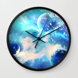 Planets Dimension Wall Clock