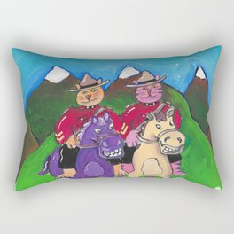Canadian Cats Rectangular Pillow
