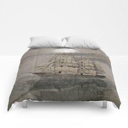 Night Journey  Comforters