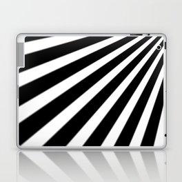 Black and White Stripes Laptop & iPad Skin