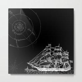 If Time Is My Vessel Metal Print