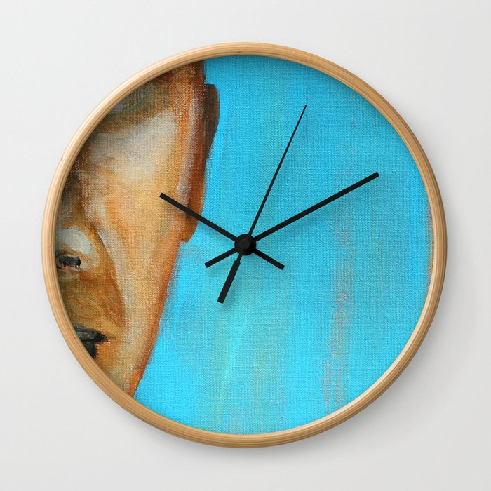 Don't Look Wall Clock