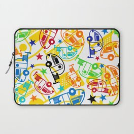 Candy Colored T@Bs Laptop Sleeve