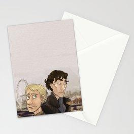 Sherlock and Watson. Stationery Cards