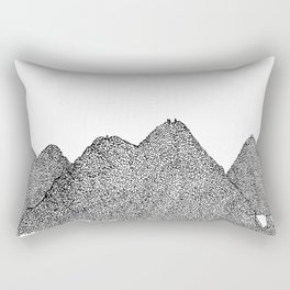 On top of the giants Rectangular Pillow