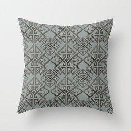 Art Deco Willow Throw Pillow