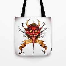 Krampus is Coming Tote Bag