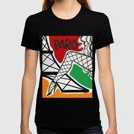 Vintage Paris France Travel T-shirt